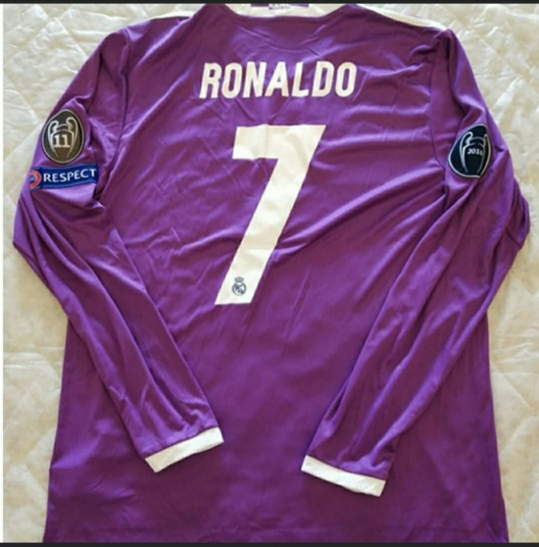 quality design 17fe4 d4a2f Adidas Real Madrid 2017 UEFA Champions League Final Away Jersey  #MRTSerangoon