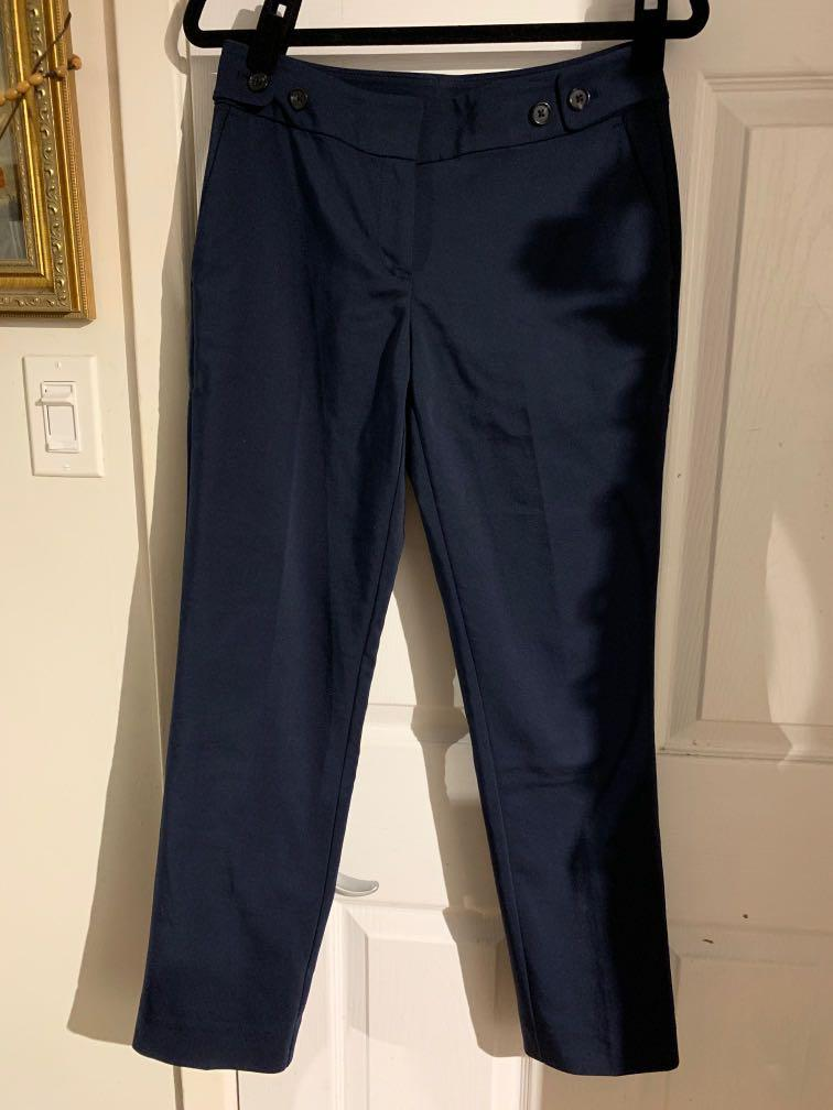 Ann Taylor Navy Blue Dress Pants