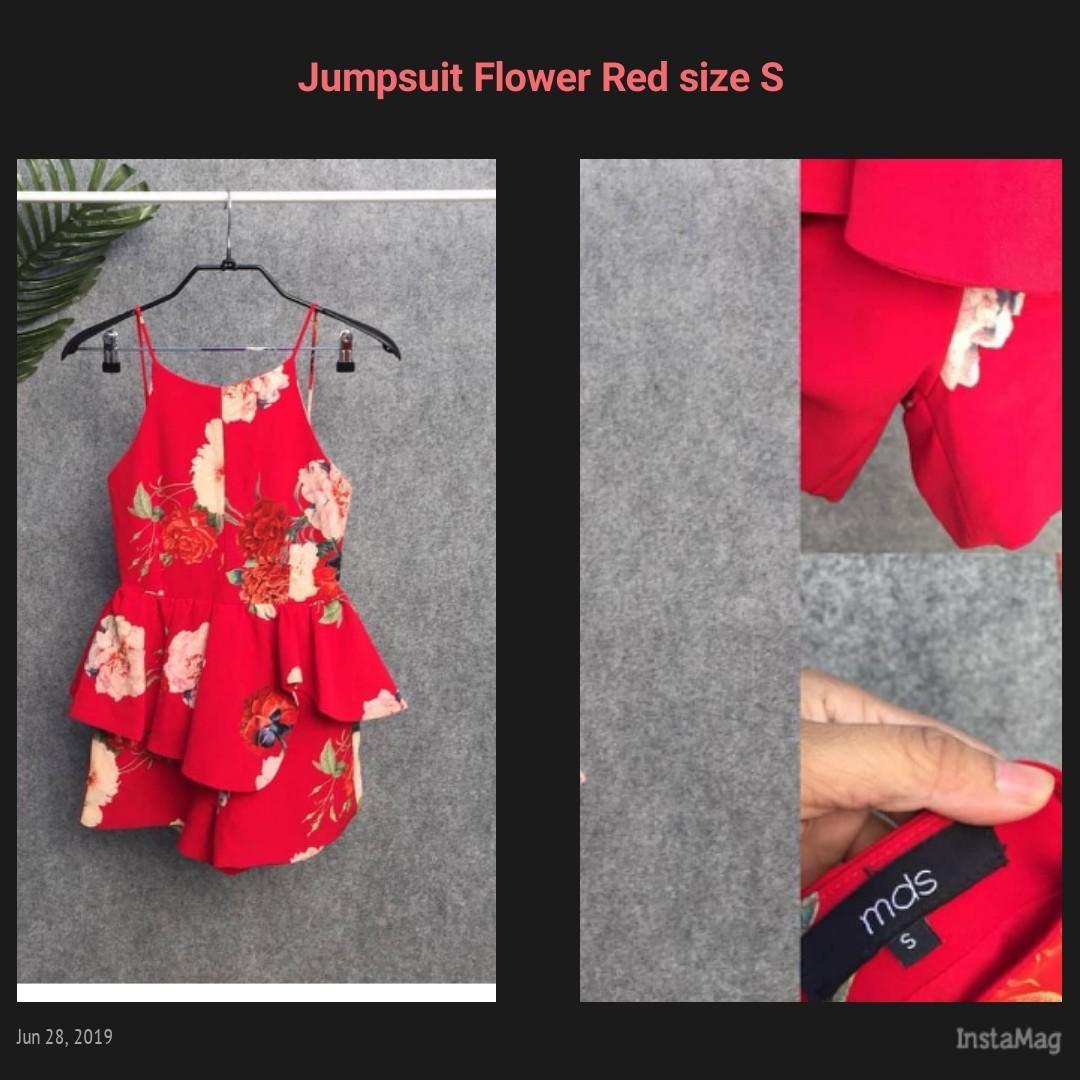 Branded jumpsuit size S