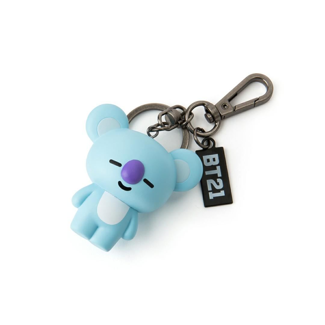 BTS BT21 KOYA figure bagcharm gantungan Official Merchandise OPEN PO - 12 July 2019