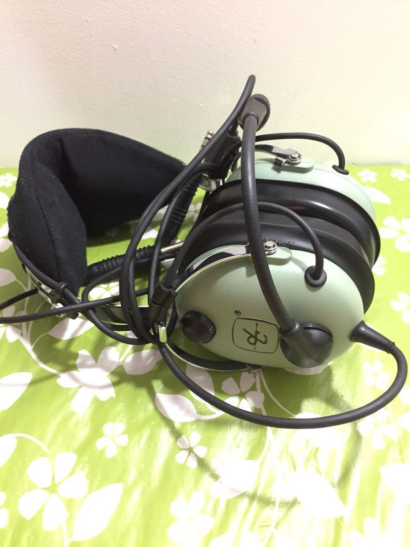David Clark H10-13.4 Aviation Headset + Brightline FlightBag