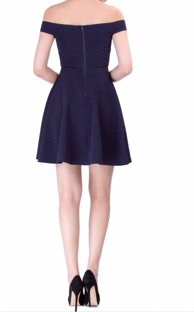 Doublewoot Off Shoulder Dress Black Little Dress #post1111 #JuneToGo
