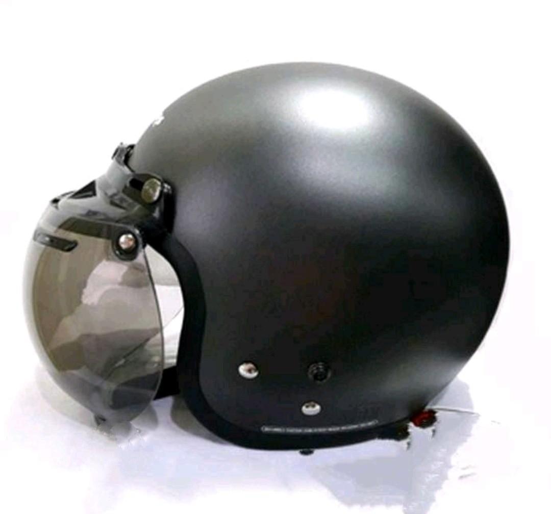 Helm cargloss army visor cembung BOGO style