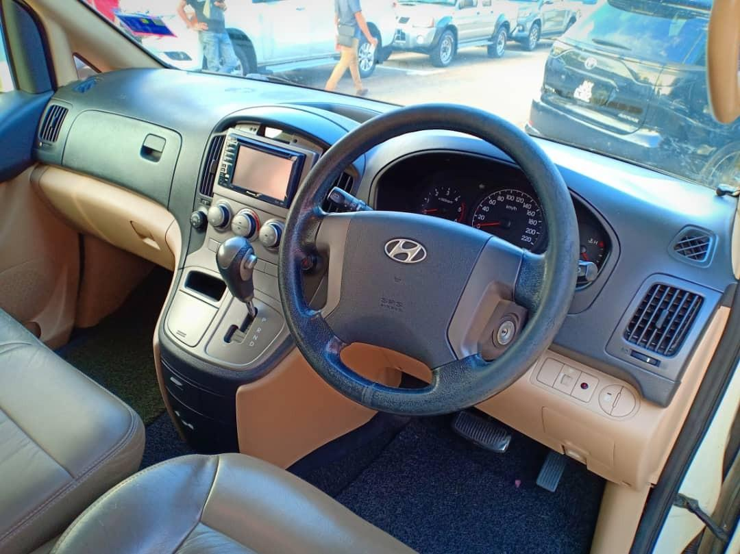 HYUNDAI STAREX 2.5AT ROYAL SPEC 2009TH Rm43,800 Cash🎉OfferPrice!!💰LowestPrice In Town🚘