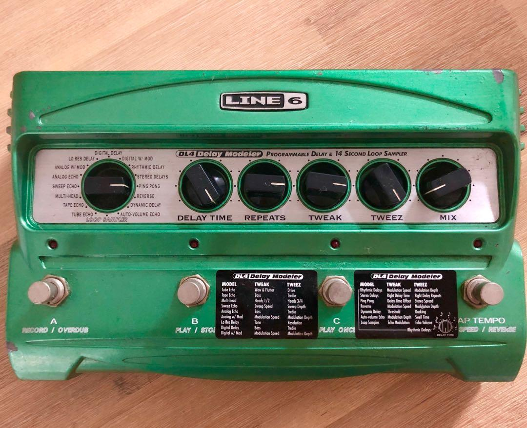 Line 6 DL4, Music & Media, Music Instruments on Carousell