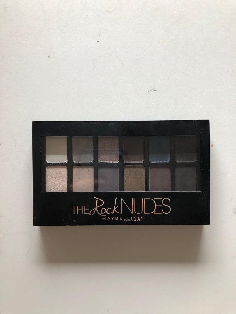 Maybelline Rock Nudes Eyeshadow Pallette