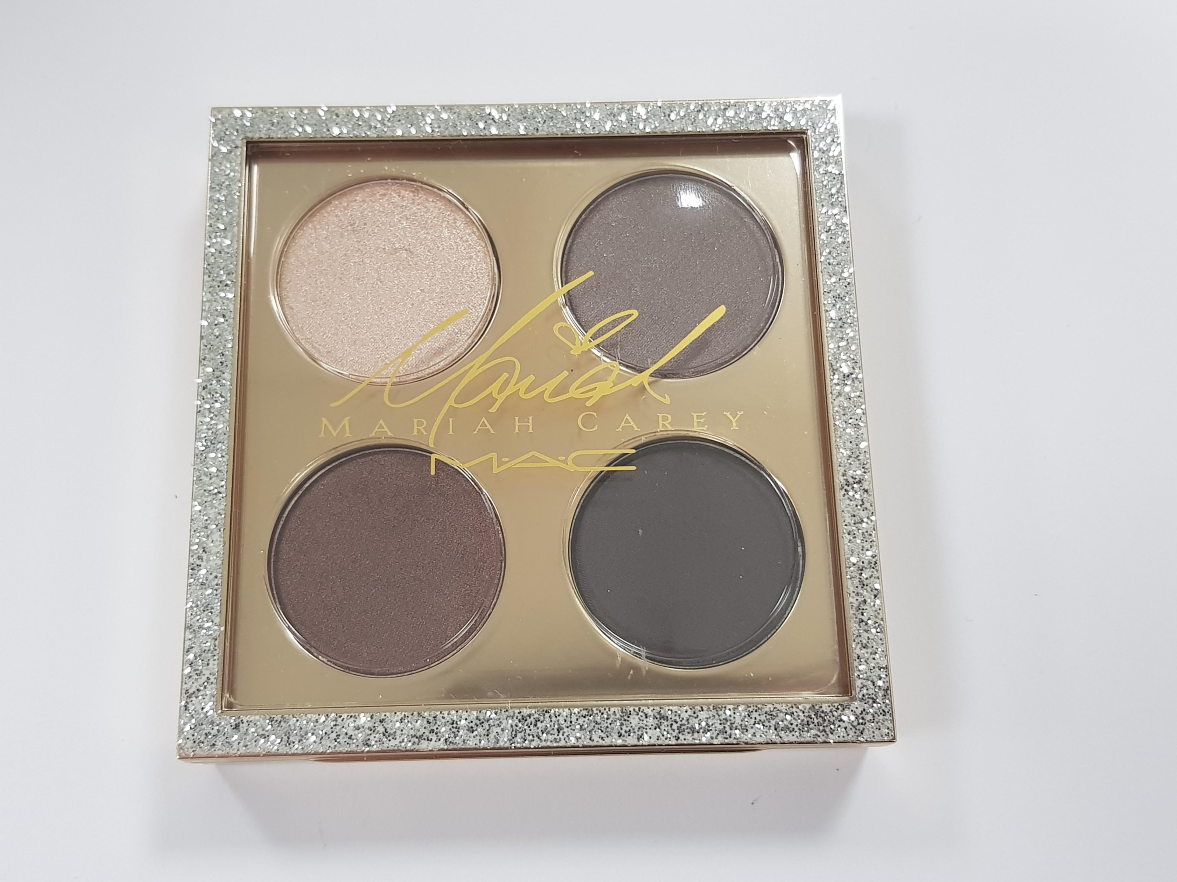 New! MAC Limited Edition Mariah Carey It's Everything Eyeshadow Quad Palette