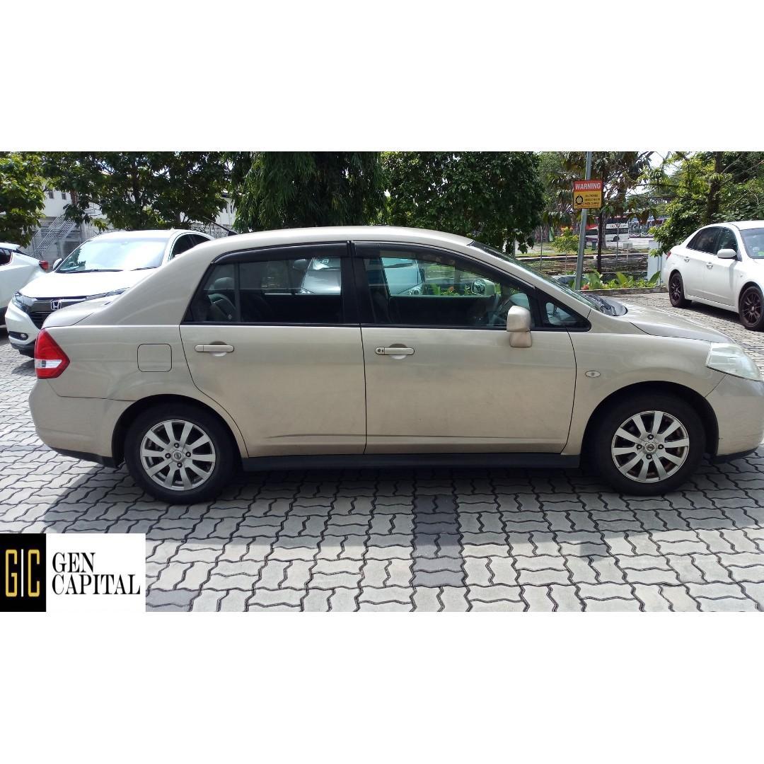 Nissan Latio 1.5A • Grab Gojek Ryde Tada & Non PHV Car Rental
