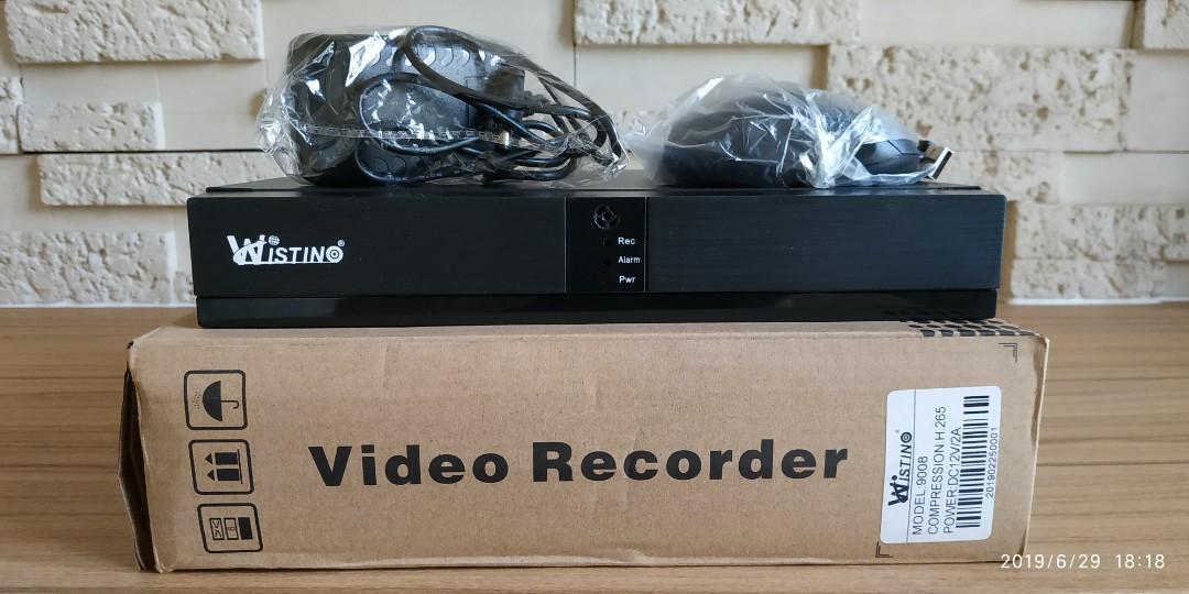 NVR HD 1080P 8CH CCTV Network Video Recorder H.265 HDMI/VGA Video Output Support Onvif P2P Cloud
