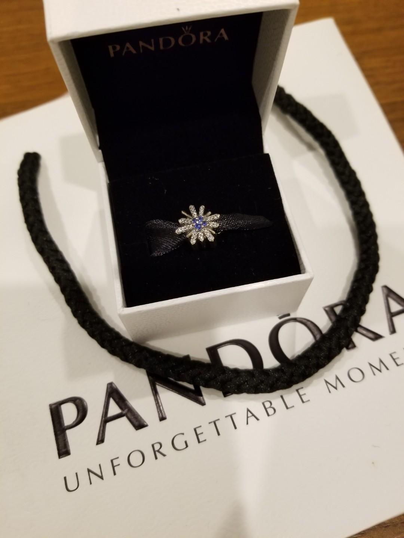 Pandora dazzling fireworks charm NEW