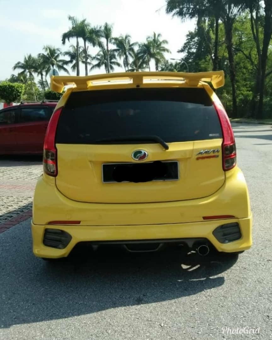 Perodua myvi 1.5 extreme manual sambung Bayar or continue loan