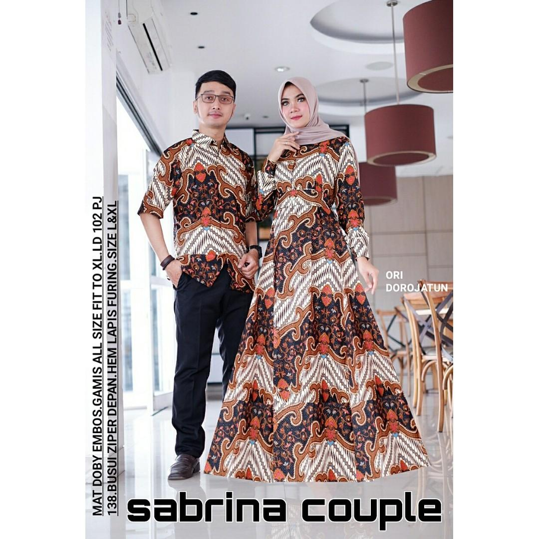 Pre Order Muslimah Long Sleeve Sabrina Set Batik Couple Muslimah Fashion Bottoms On Carousell