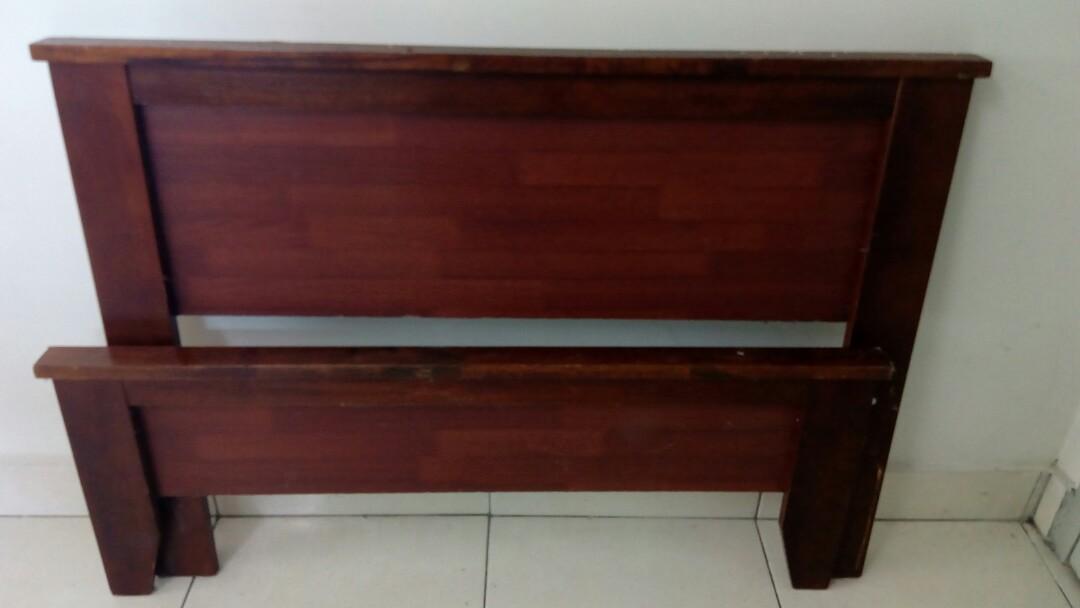 Rangka katil kayu Murah