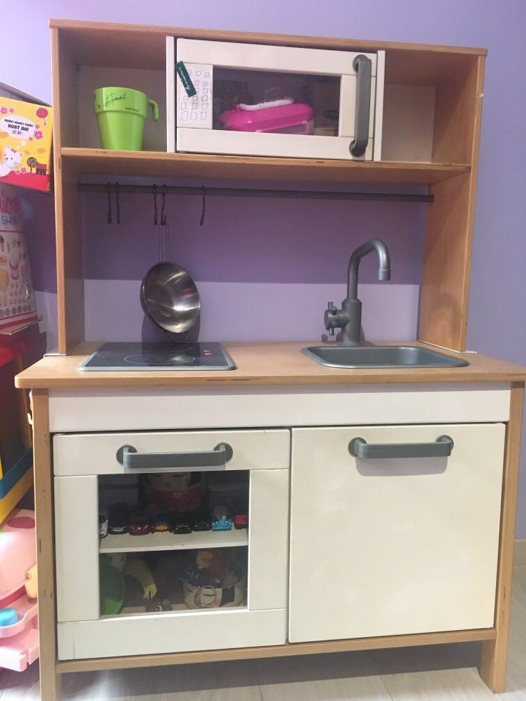RESERVED - Kid Kitchen Toy set (from IKEA), Babies & Kids ...