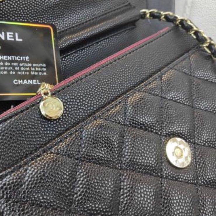 Semi Authentic Chanel WOC Caviar sling bag / tas selempang wanita