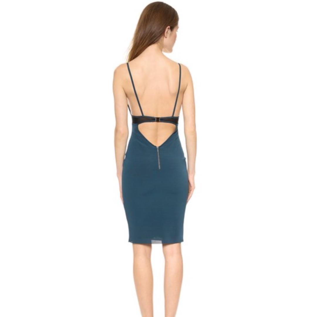 Size 10 Bec & Bridge Mercury Mesh Bodycon Dress Vintage Women's Ladies Formal