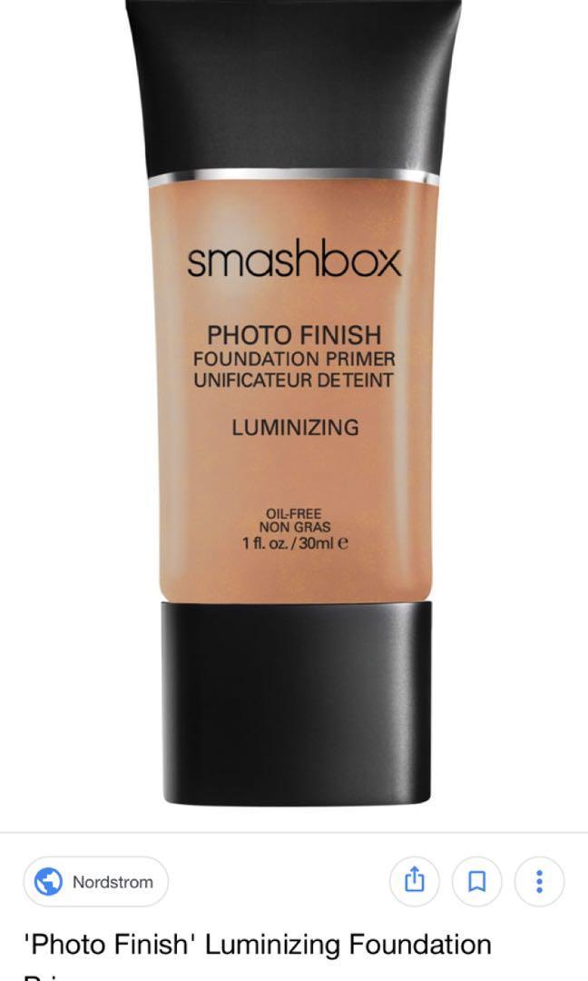 Smash box photo finish foundation primer luminizing