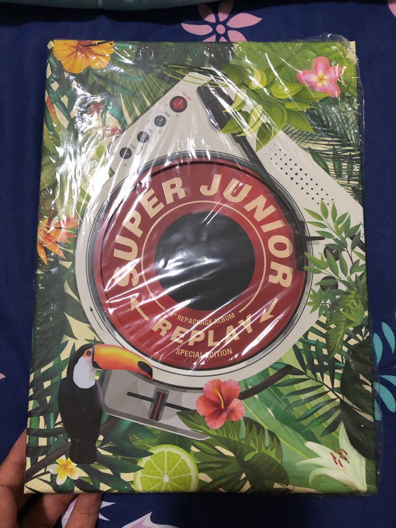 SUPER JUNIOR REPLAY SPECIAL EDITION : 8th repackage album