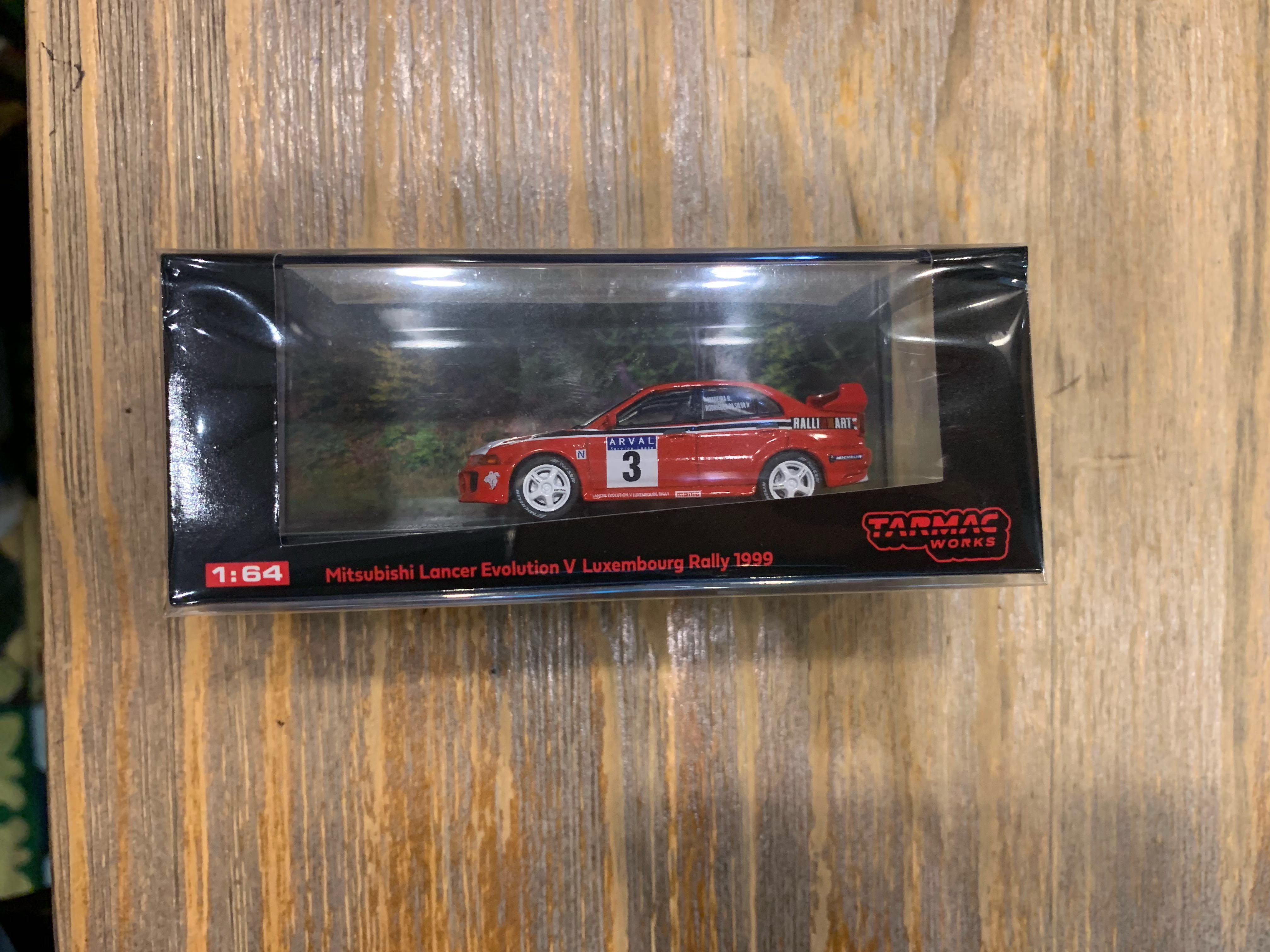Tarmac works Mitsubishi Lancer Evolution V Luxembourg Rally 1999  Philippine excluive菲律賓會場限定