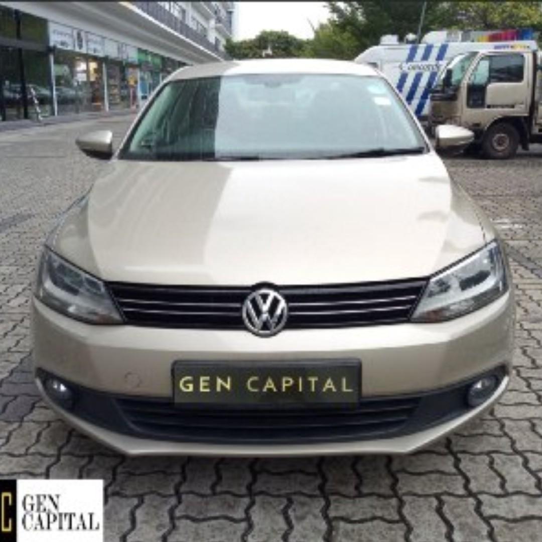 Volkswagen Volkswagen Jetta 1.4TSI • Grab Gojek Ryde Tada & Non PHV Car Rental