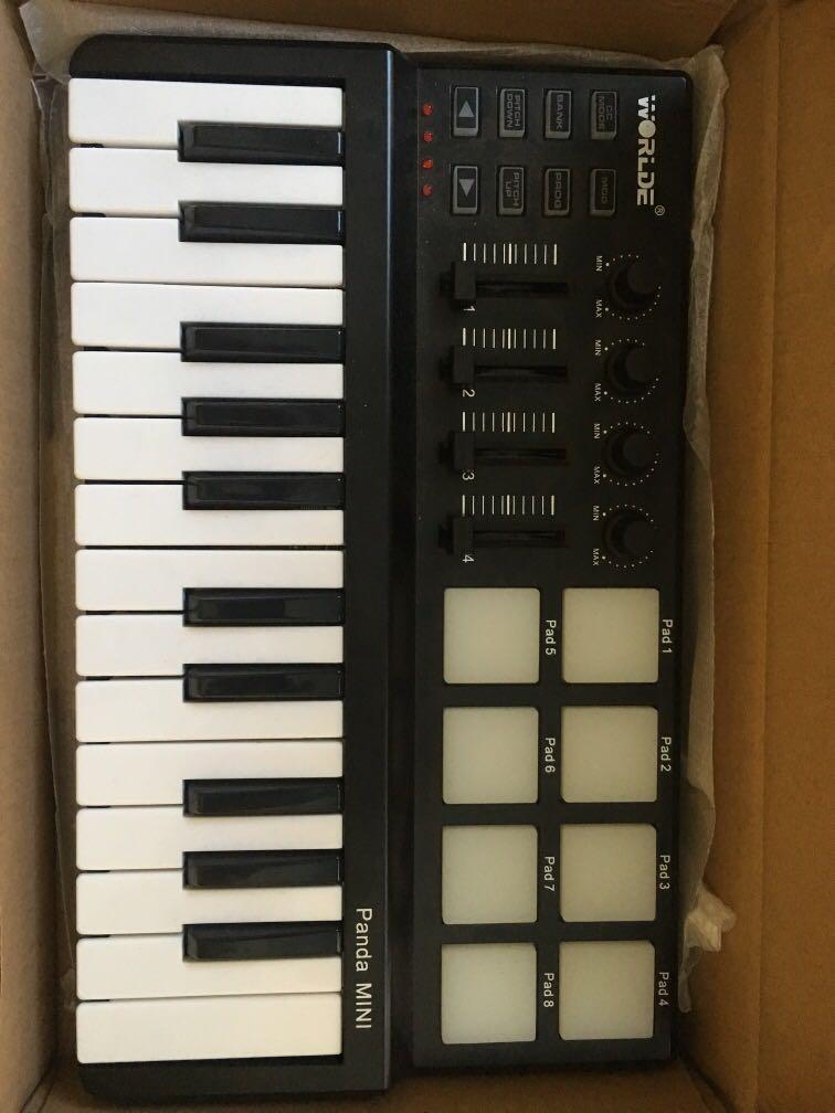 Worlde Panda Mini MIDI Keyboard