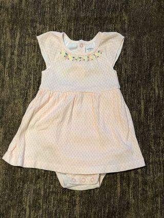🚚 Carter's Baby Girl Dress 6M