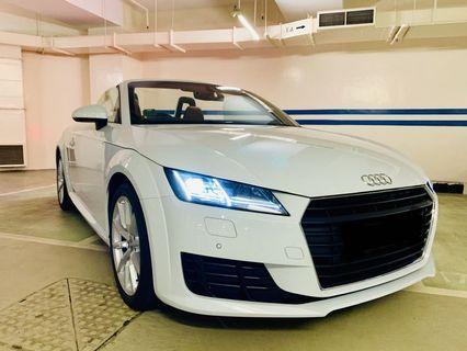 Weddingcarriages Audi TT roadster Rental offer