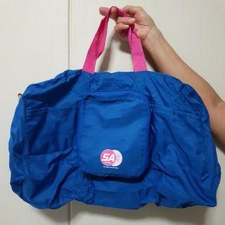 Foldable Travel Shopping Bag Blue
