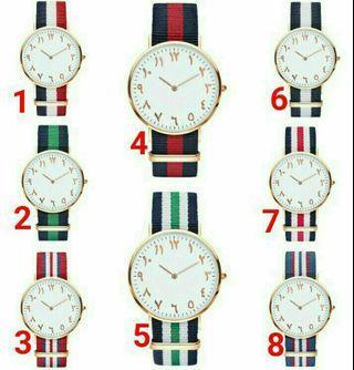 Arabic Watch DW Design