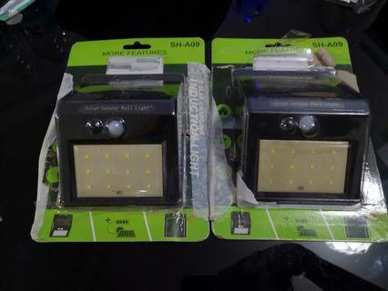 Solar Powered Motion Sensor Light ×2