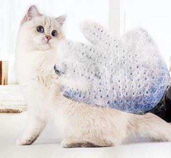 貓 去浮毛 沖涼 手套 🧤右手