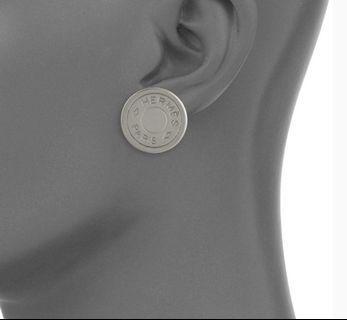 Hermes Clou de Selle Earrings 耳環
