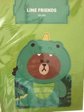 🚚 紙盒置物架_恐龍熊大
