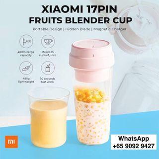 Xiaomi 17PIN Star Fruit Cup Portable Juicer 400ML
