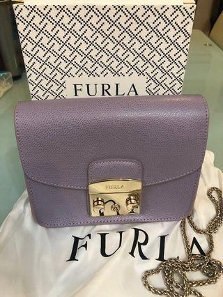 粉紫色 Furla Bag