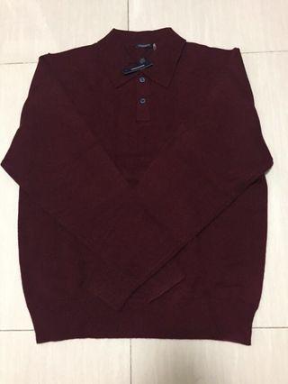 Magaschoni Cashmere Men Polo Style Knitwear