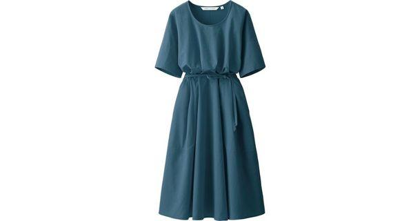 Uniqlo Lemaire Seersucker Dress