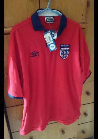 全新2000 英格蘭主場球衣