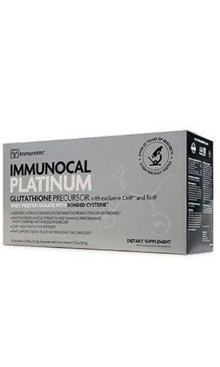 Immunotec Immunocal Platinum Glutathione Precursor (15 packs)