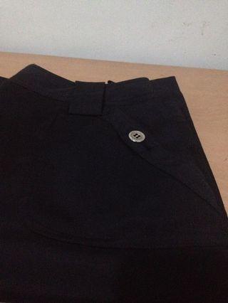 Black Office Skirt Mall Quality