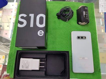 Samsung S10e 128GB NTC Prism White complete package RUSH