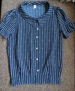 PRICE REDUCED! BNIB Collared blouse