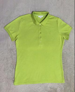 Uniqlo Polo shirt Pear green