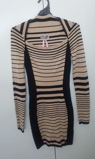 Lipsy knit dress size S