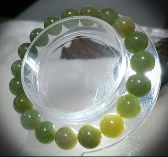 🚚 💎天然緬甸翡翠🔮秋香綠手珠