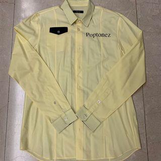 Undercover Poptonez Light Yellow Shirt