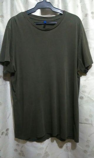 2 Pieces H&M Army Green Shirt