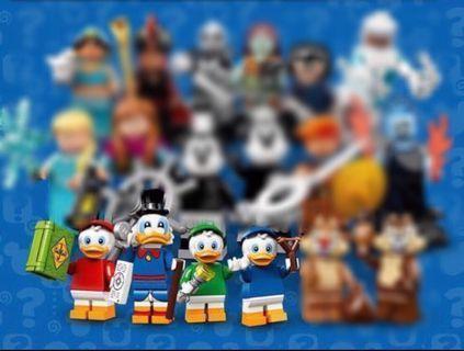 Lego Disney Minifigures•Lego人仔•