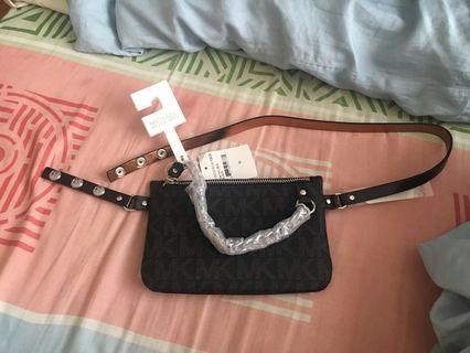 Authentic Michael Kors MK belt bag