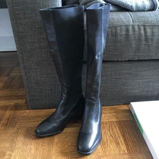 Santo Fraco real leather boots